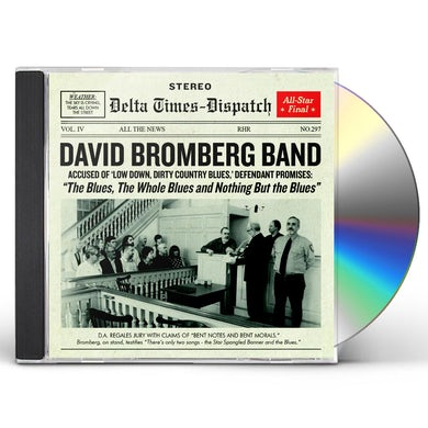 David Bromberg BLUES THE WHOLE BLUES & NOTHING BUT THE BLUES CD