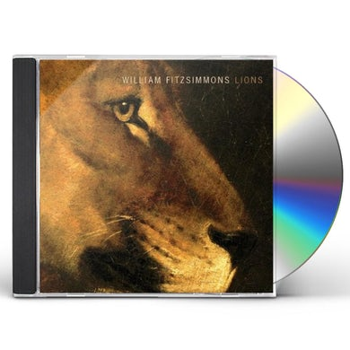 William Fitzsimmons LIONS CD