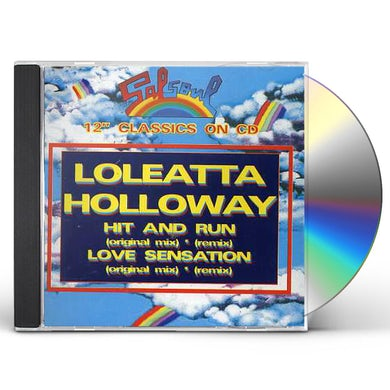 Loleatta Holloway HIT & RUN/LOVE SENSATION CD