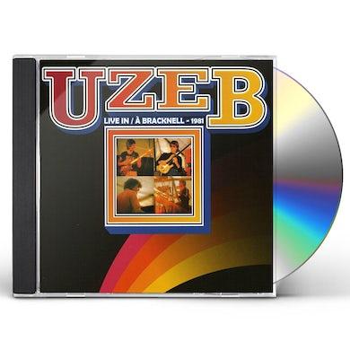 Uzeb LIVE IN BRACKNELL CD