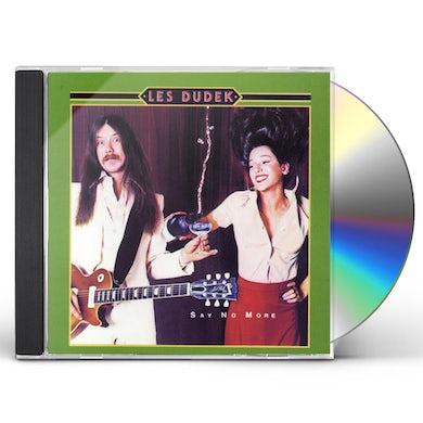Les Dudek SAY NO MORE CD