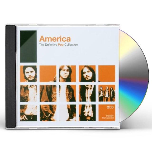 America DEFINITIVE POP CD