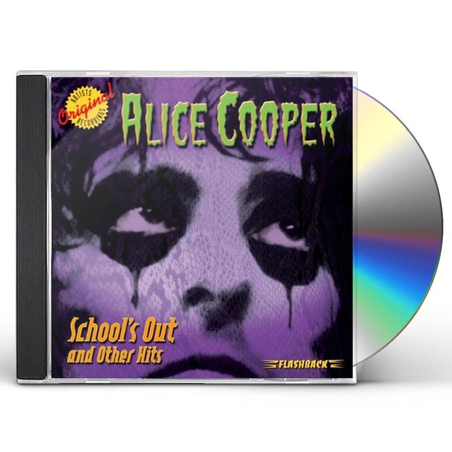 Alice Cooper SCHOOL'S OUT & OTHER HITS CD