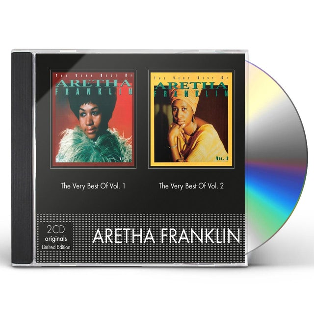 VERY BEST OF ARETHA FRANKLIN CD