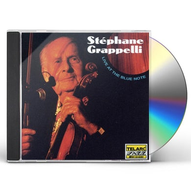 Stephane Grappelli LIVE AT THE BLUE NOTE CD