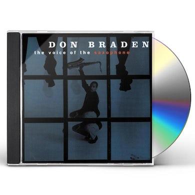 Don Braden VOICE OF SAXOPHONE CD