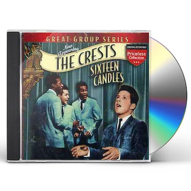 Crests SIXTEEN CANDLES CD