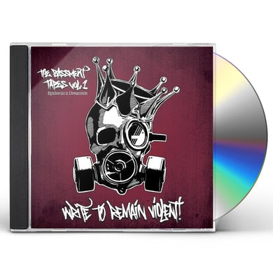 Epidemic THE BASSMENT TAPES VOL.1: WRITE TO REMAIN VIOLENT CD