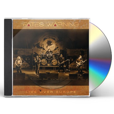 Fates Warning LIVE OVER EUROPE CD