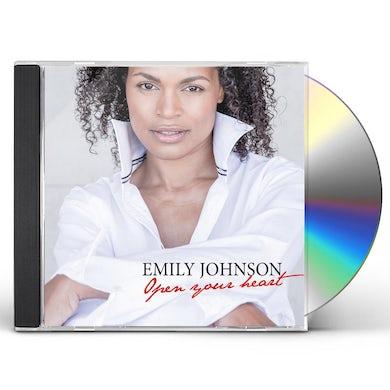 Emily Johnson OPEN YOUR HEART CD