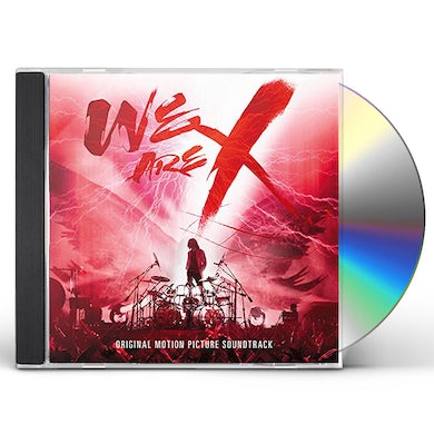X Japan WE ARE X (OST) CD