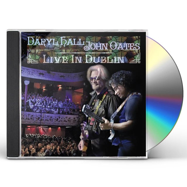 Hall & Oates LIVE IN DUBLIN CD