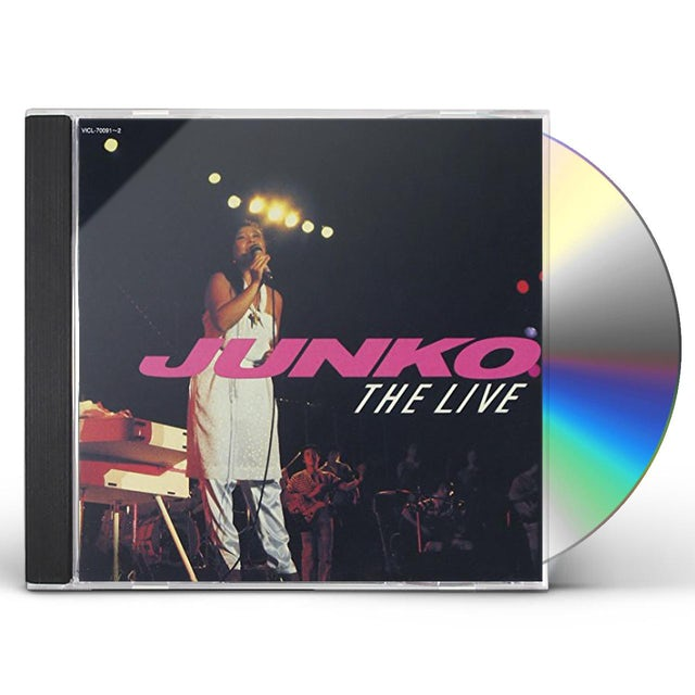 Junko Yagami JUNKO THE LIVE CD