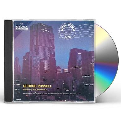 George Russell NEW YORK N.Y. CD