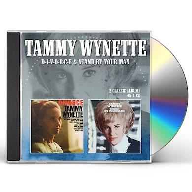 Tammy Wynette D-I-V-O-R-C-E / STAND BY YOUR MAN CD