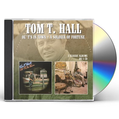 Tom T Hall OL TS IN TOWN / SOLDIER OF FORTUNE CD