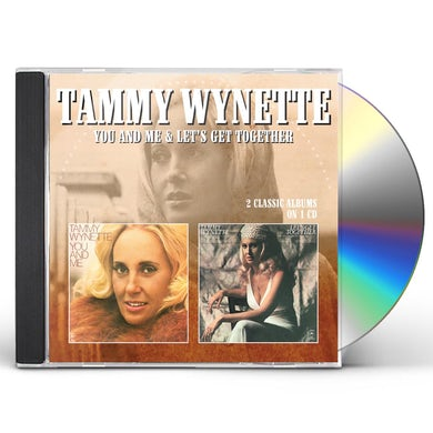 Tammy Wynette YOU & ME / LET'S GET TOGETHER CD