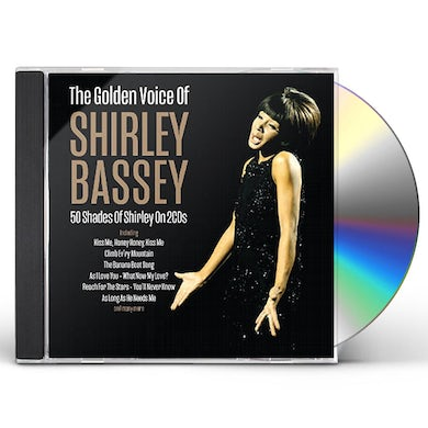 Shirley Bassey GOLDEN VOICE OF CD