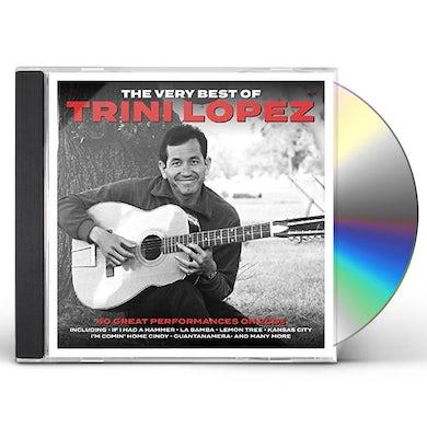 Trini Lopez VERY BEST OF CD