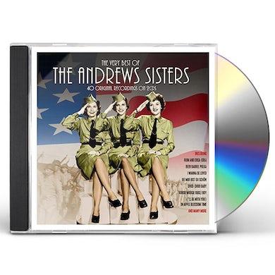 Andrews Sisters VERY BEST OF CD