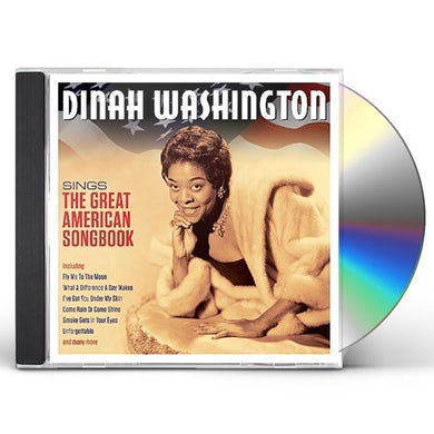 Dinah Washington SINGS THE GREAT AMERICAN SONGBOOK CD