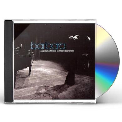 BARBARA AU THEATRE DES VARIETES CD