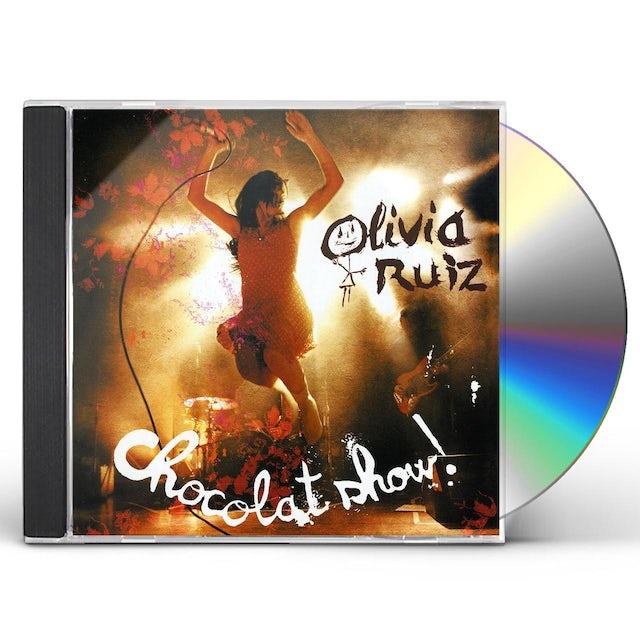 Olivia Ruiz CHOCOLATE SHOW: LIVE CD