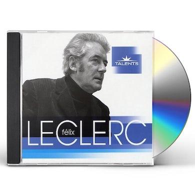 Felix Leclerc TALENTS CD