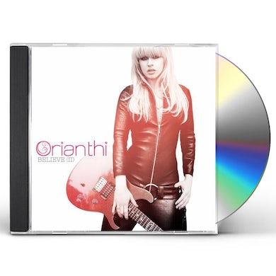 Orianthi BELIEVE II CD