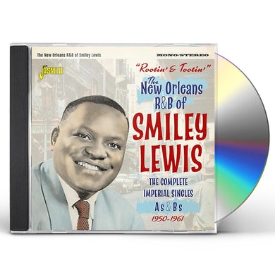 Smiley Lewis ROOTIN & TOOTIN THE NEW ORLEANS R&B OF SMILEY CD