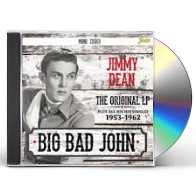 Jimmy Dean BIG BAD JOHN: ORIGINAL LP PLUS ALL HIS HIT SINGLES CD