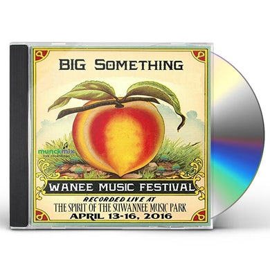 Big Something LIVE AT WANEE 2016 CD