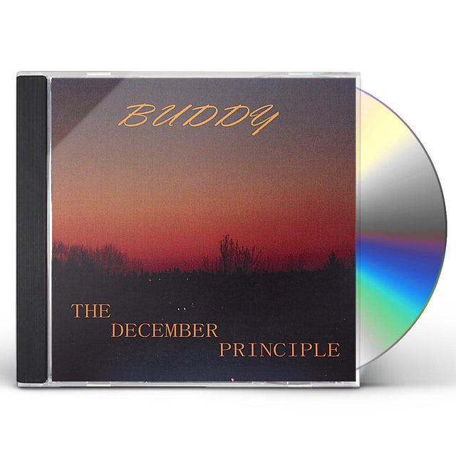 Buddy DECEMBER PRINCIPLE CD