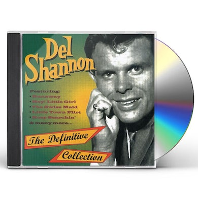 Del Shannon HITS OF THE 60'S CD
