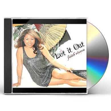 Faith Rivera LET IT OUT CD