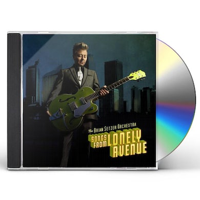 Brian Setzer SONGS FROM LONELY AVENUE CD