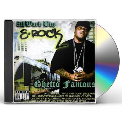 E-Rock GHETTO FAMOUS CD