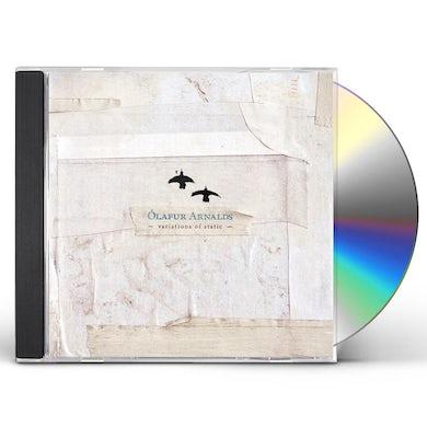 Ólafur Arnalds VARIATIONS OF STATIC CD
