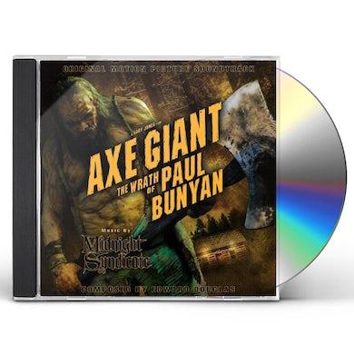 Midnight Syndicate AXE GIANT THE WRATH OF PAUL BUNYAN: ORIGINAL MOTIO CD