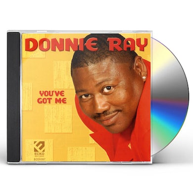 Donnie Ray YOU'VE GOT ME CD