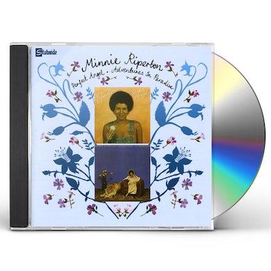 Minnie Riperton PERFECT ANGEL / ADVENTURES IN PARADISE CD