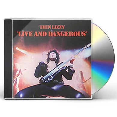 Thin Lizzy LIVE & DANGEROUS CD