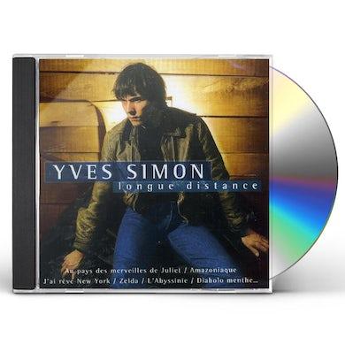Yves Simon LONGUE DISTANCE: BEST OF CD