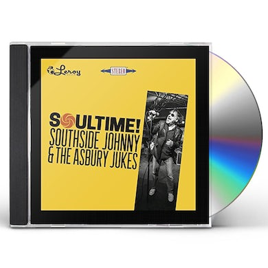 Southside Johnny & The Asbury Jukes SOULTIME CD