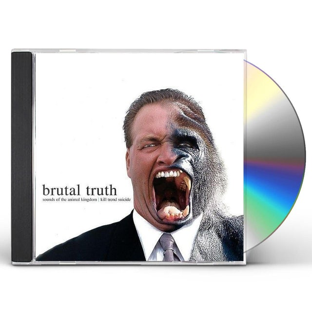 Brutal Truth SOUNDS OF THE ANIMAL KINGDOM / KILL TREND SUICIDE CD