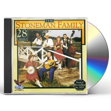 Stoneman Family 28 CLASSICS CD