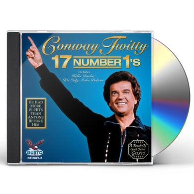 Conway Twitty 17 NUMBER 1S CD
