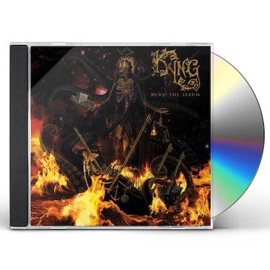 Kyng BURN THE SERUM CD