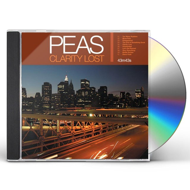 Peas CLARITY LOST CD