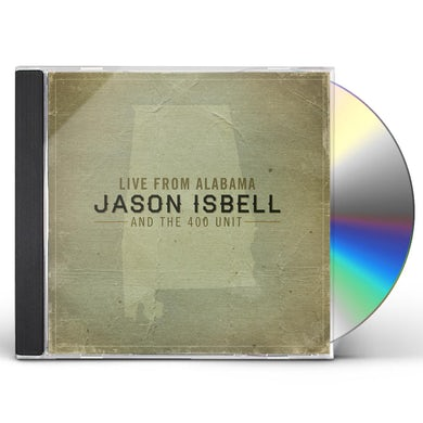 Jason Isbell LIVE FROM ALABAMA CD